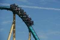 The Kraken rollercoaster
