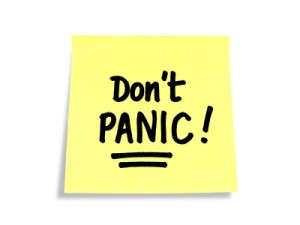 No need to panic with hypnotherapy