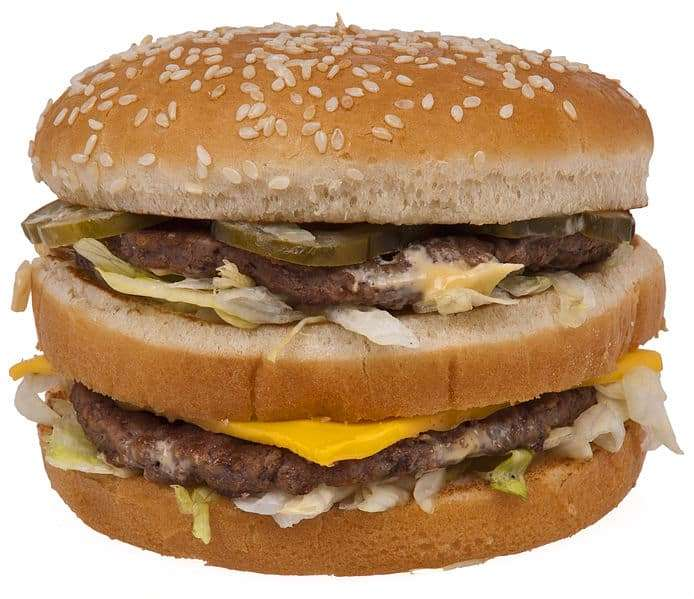 mcdonalds big mac burger