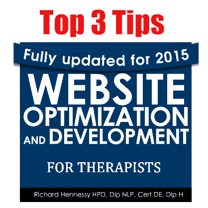 top 3 tips for optimizing your therapy website