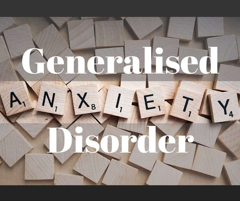 GAD is generalised anxiety disorder